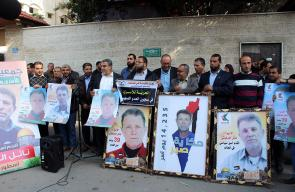 وقفة تضامنية مع الأسير القائد نائل البرغوثي