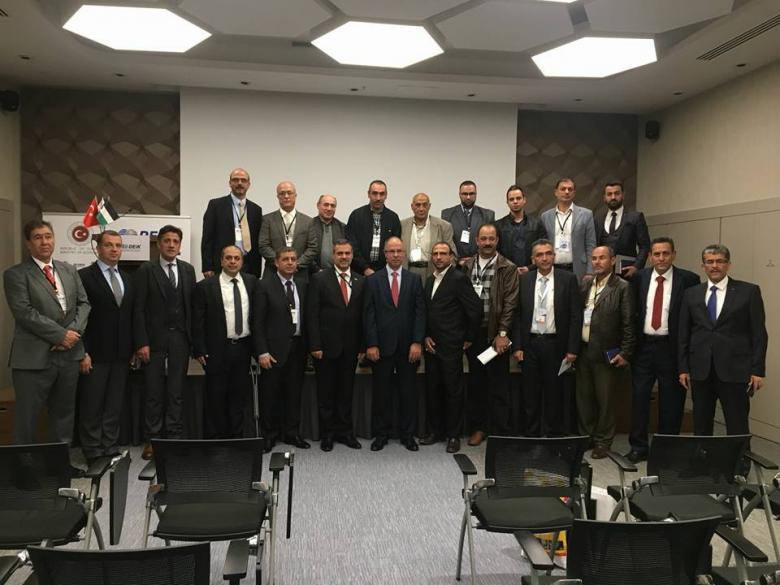 ملتقى رجال اعمال نابلس يشارك في فعاليات أسبوع الصادرات التركي