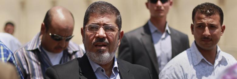 محمد مرسي.. ثبات في الحياة وعبر في الممات