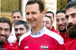 استقبال الأسد لمنتخب سوريا يثير جدلا وانقساما