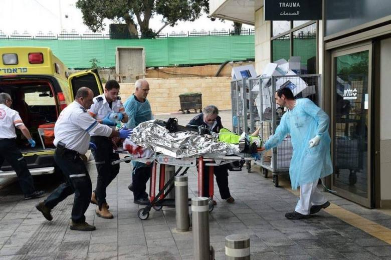 الاحتلال ينشر فيديو كاملا لعملية الطعن وإطلاق النار بسلفيت