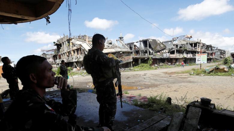 مقتل انتحاري تنكر بزي امرأة في الفلبين