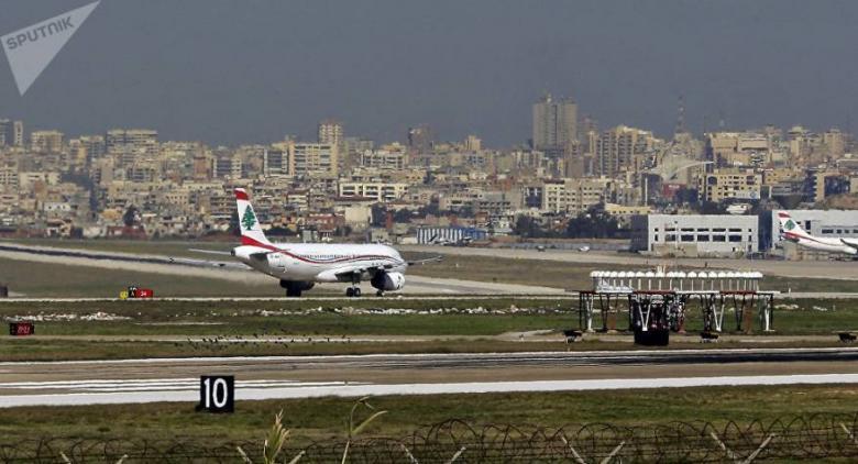 """لبنان ينفي هبوط طائرة قادمة من """"إسرائيل"""" بمطار بيروت"""