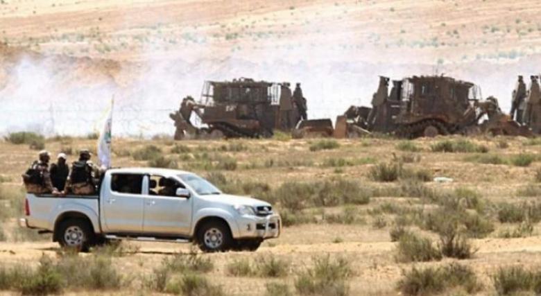 الاحتلال يطلق النار على قوة ضبط ميداني شرق المغازي