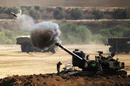 مدفعية الاحتلال تقصف مواقع للمقاومة شمال القطاع