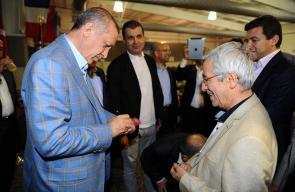 أردوغان في حملة ضد تدخين السجائر