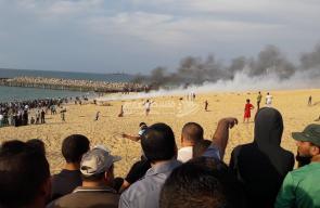 المسير البحري الـ12 شمال قطاع غزة
