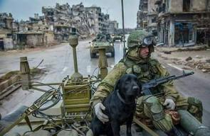 الجيش الروسي يستحل شوارع حلب