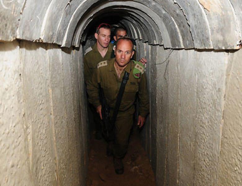"""""""إسرائيل"""": مختبر عسكري سري لرصد الأنفاق"""