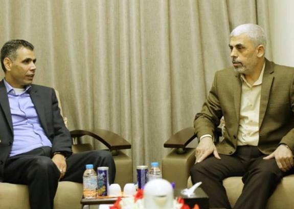 السنوار: لن نسمح للاحتلال بتكرار الاعتداء على غزة