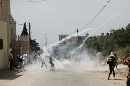إصابات بالاختناق بقمع الاحتلال لمسيرة كفر قدوم