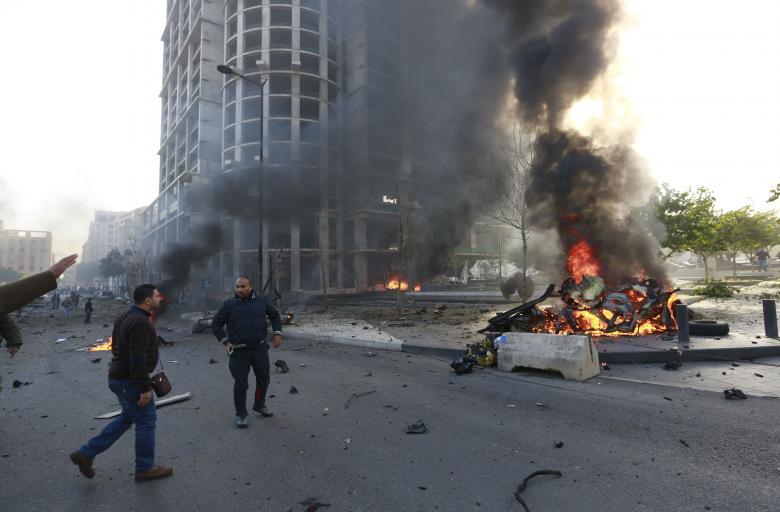 مقتل 8 رجال شرطة في هجوم بشاحنة مفخخة في سيناء بمصر