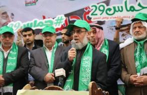 حماس تطلق فعاليات الانطلاقة الـ29 بالوسطى