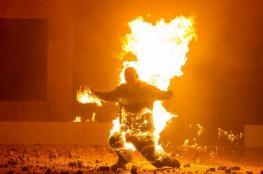 امرأة تحرق زوجها حيًا لهذا السبب!