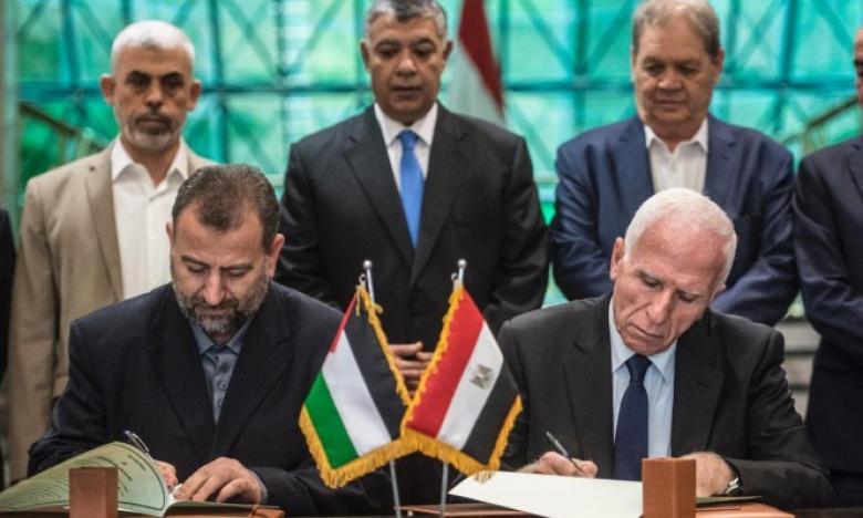 مصر وفلسطين تتفقان على استكمال جولات المصالحة الفلسطينية