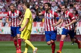 أتلتيكو مدريد يهزم فياريال ويؤمن وصافة الليجا