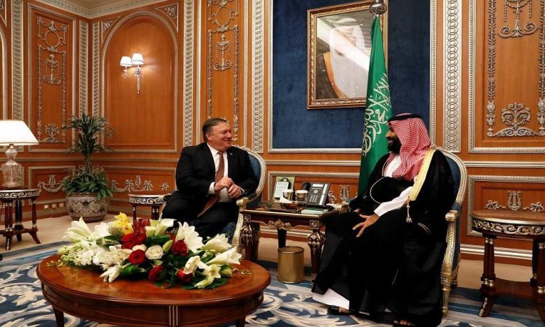 ملفات خطيرة بحقيبة وزير الخارجية الأمريكي يحملها للسعودية