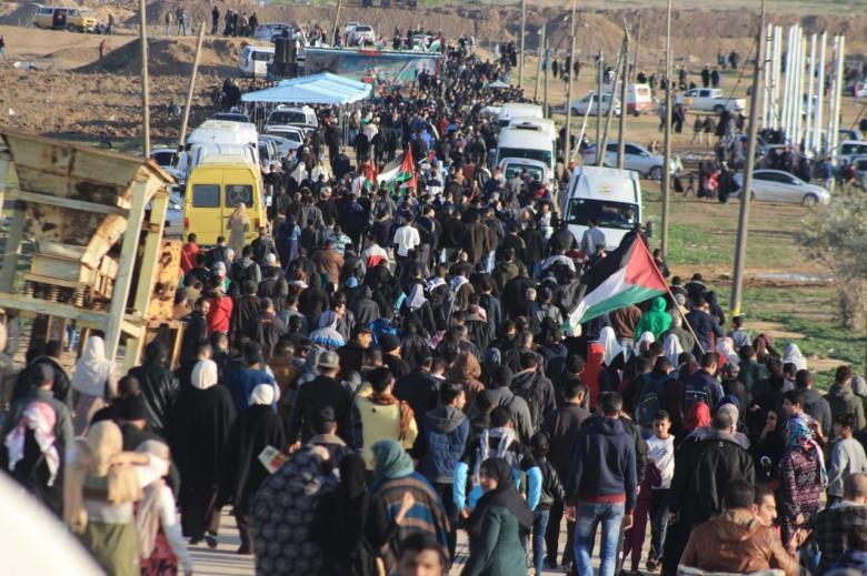 أبو ظريفة يعلن عنوان الجمعة القادمة في مسيرات العودة