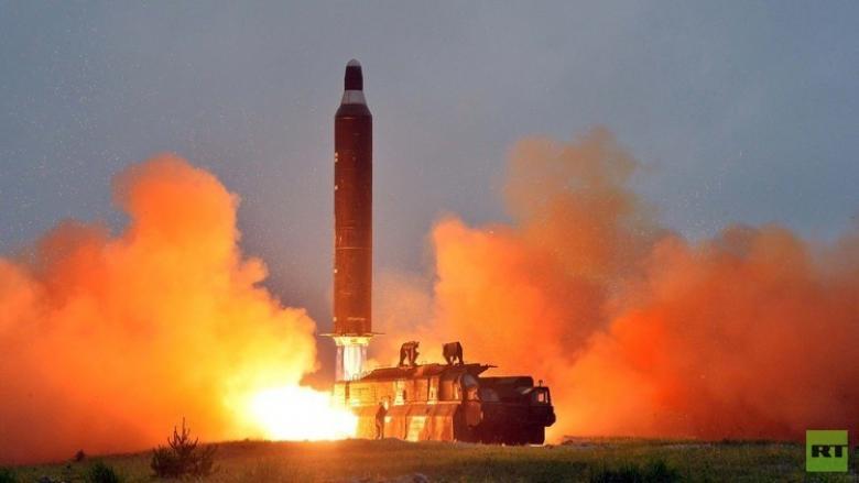 """صاروخ كوريا الشمالية الباليستي """"لا يشكل أي تهديد"""" لأميركا"""