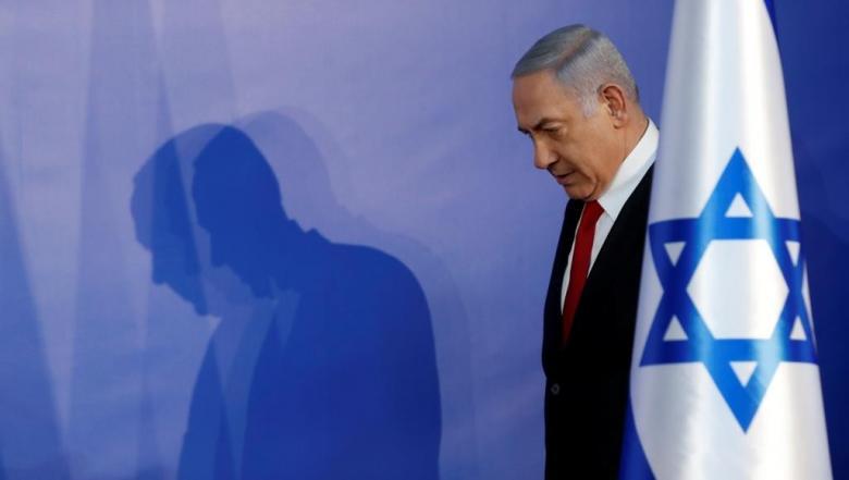 لحظة إخلاء نتنياهو إلى ملجأ في إسدود