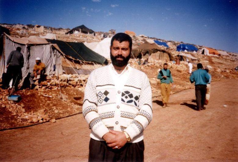 استقبال هنية بعد عودته من الإبعاد عام 1993