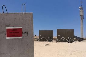 جدار متحرك يطلق النار لحماية قوات الاحتلال على حدود غزة