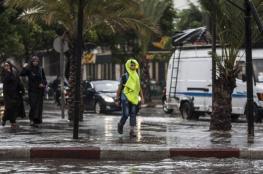 18 ملم كمية الأمطار الهاطلة في نابلس