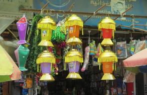 استعداد أهالي خانيونس لاستقبال شهر رمضان