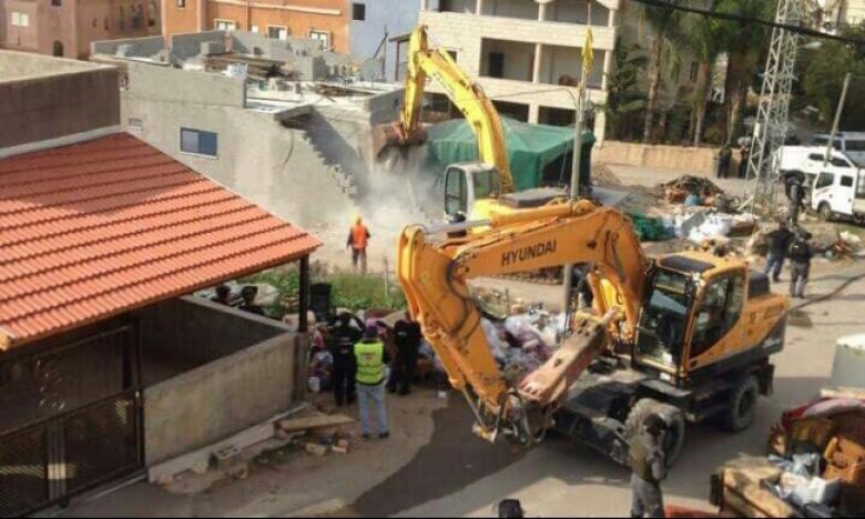 الاحتلال يهدم منزلاً في الولجة شمال بيت لحم