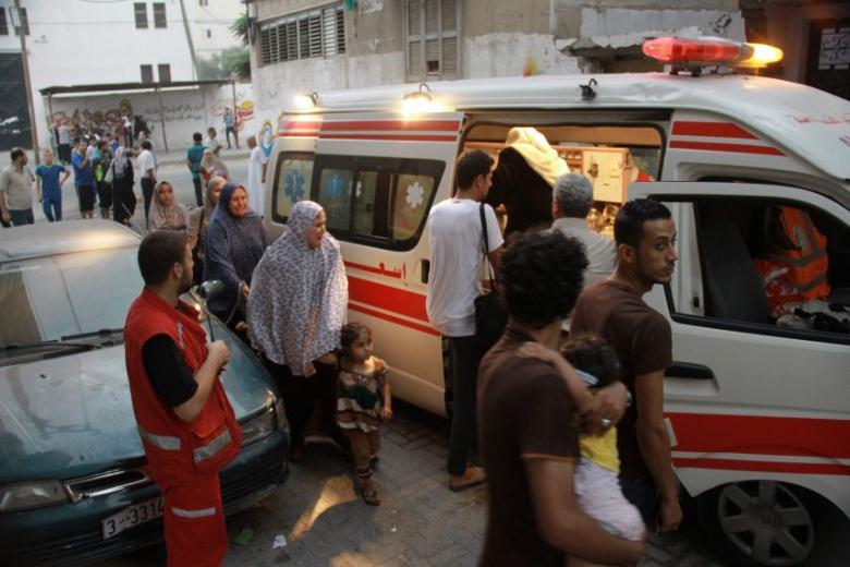 وفاة طفلة إثر حادث مروري شرق غزة