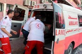 إصابة بالغة لطفل بحادث سير جنوب غزة