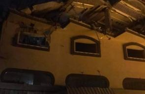 منزل قائد سرايا القدس بهاء أبو العطا الذي استهدفه جيش الاحتلال