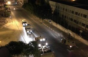اقتحام الاحتلال لقبر يوسف في مدينة نابلس