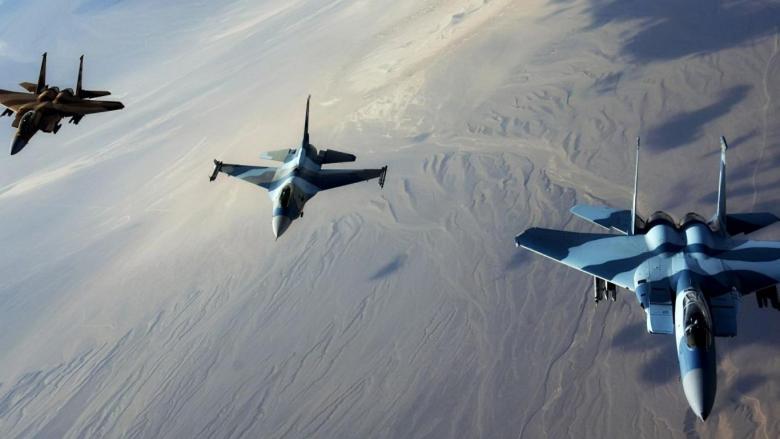 """صواريخ """"المكعب"""" أسقطت الطائرة الإسرائيلية"""