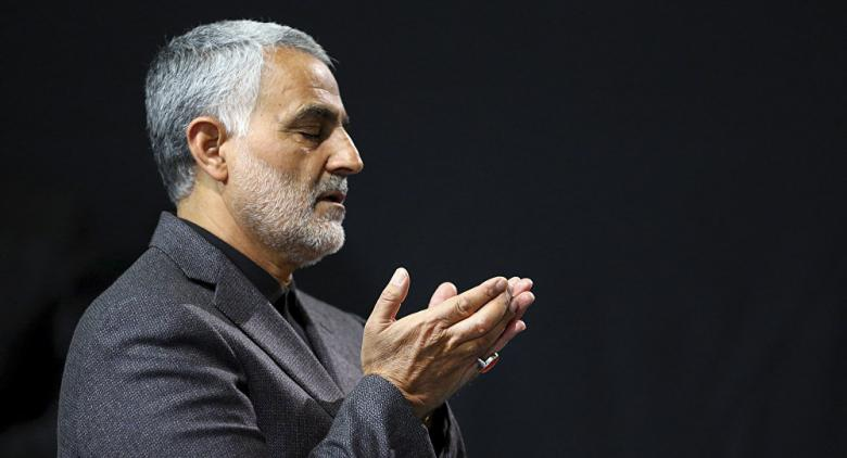 إيران تصعد بقاسم سليماني إلى الفضاء