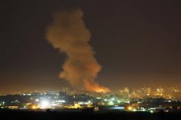 طائرات الاحتلال تشن غارتين على قطاع غزة