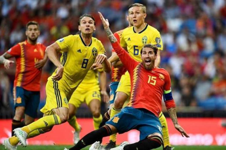 إسبانيا تطعن السويد بثلاثية في برنابيو