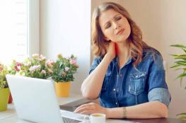 النساء أكثر عرضة للإصابة بآلام الرقبة