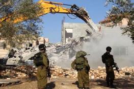 وقفة منددة بهدم المنازل والاستيلاء عليها في القدس