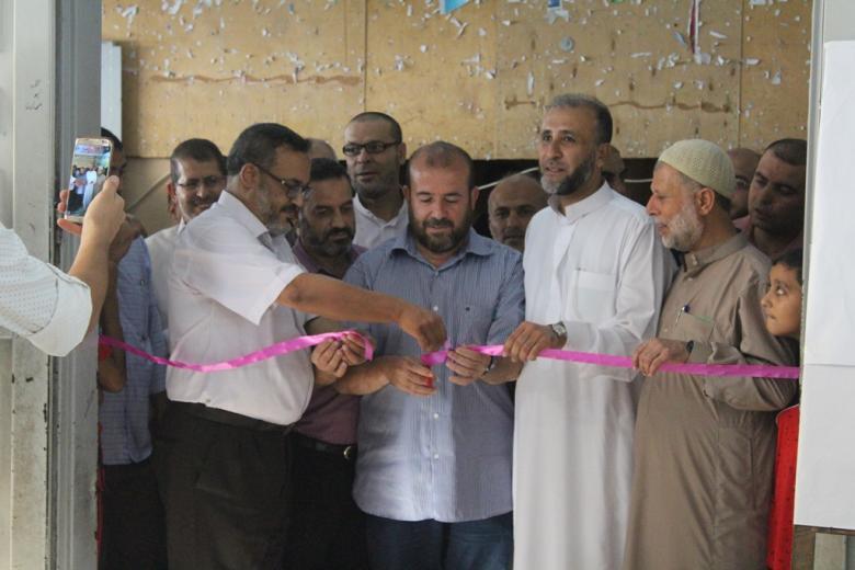 """""""مسجد الشهيد"""" بالبريج ينظم فعاليات تضامنية مع الأقصى"""