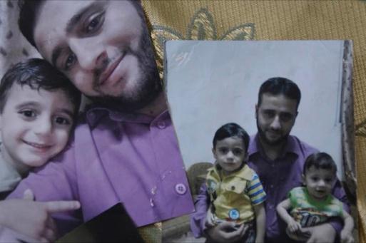 الأب في السجن والأم في غزة والطفلان في نابلس