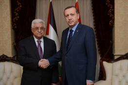 """أردوغان يُطلع عباس على الاتفاق مع """"إسرائيل"""" بِشأن غزة"""
