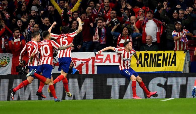 أتلتيكو مدريد يُسقط ليفربول بضربة نيجويز