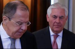 لافروف وتيلرسون يبحثان الهجوم الكيميائي في سوريا