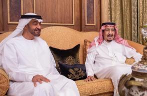 الملك سلمان يلتقي ابن زايد