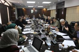 رام الله: اجتماع في الحكم المحلي لمناقشة ملف الكسارات والمحاجر