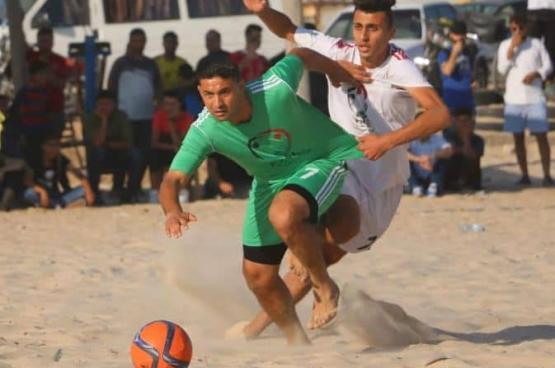 تأجيل نهائي الشاطئية ومباريات الناشئين في غزة