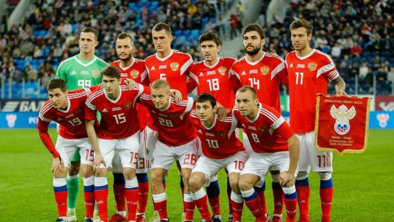 الفيفا ينفي تعاطي لاعبي المنتخب الروسي للمنشطات