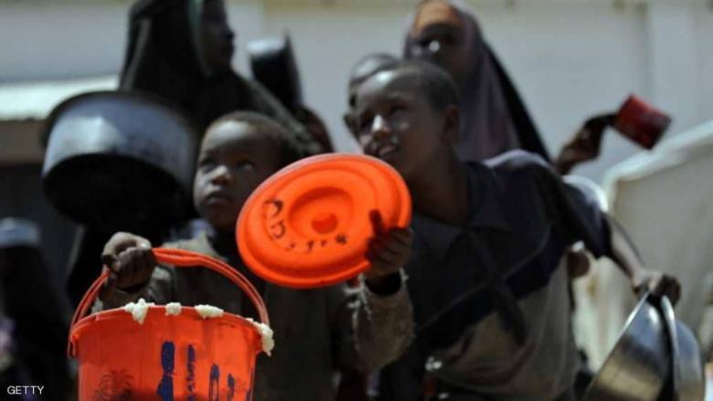 """عدد الصوماليين على شفا المجاعة """"ازداد"""" 10 أضعاف"""