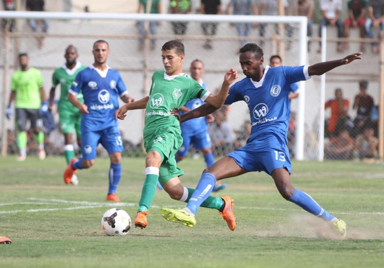 7 مباريات تقام اليوم في دوري غزة